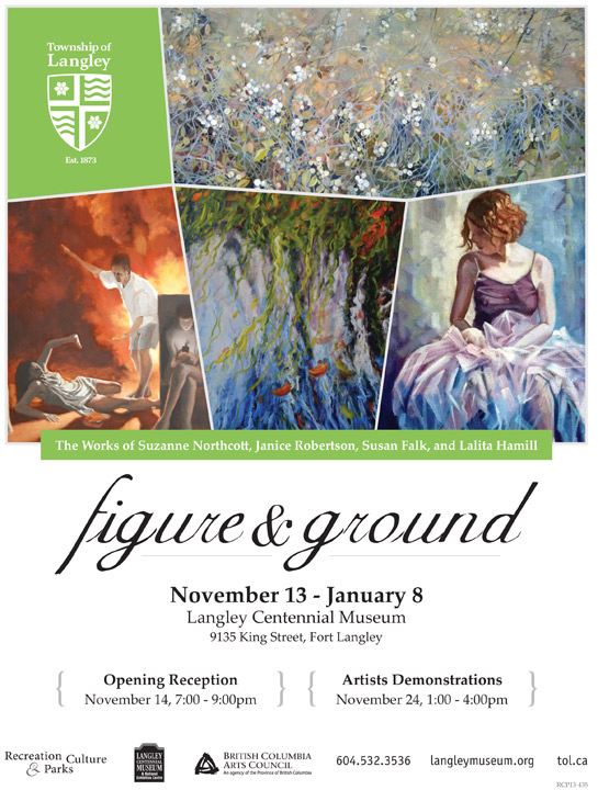 figure & ground poster